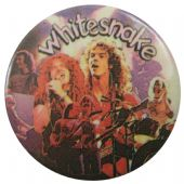 Whitesnake - 'Group Collage' Button Badge